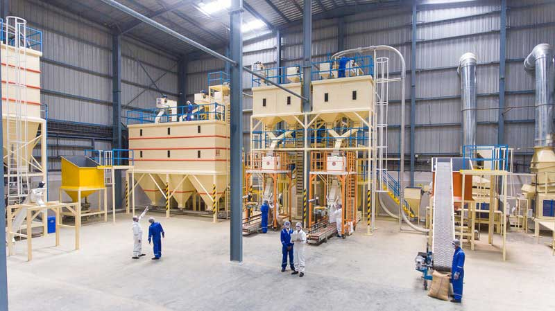 production floor at Gujarat factory